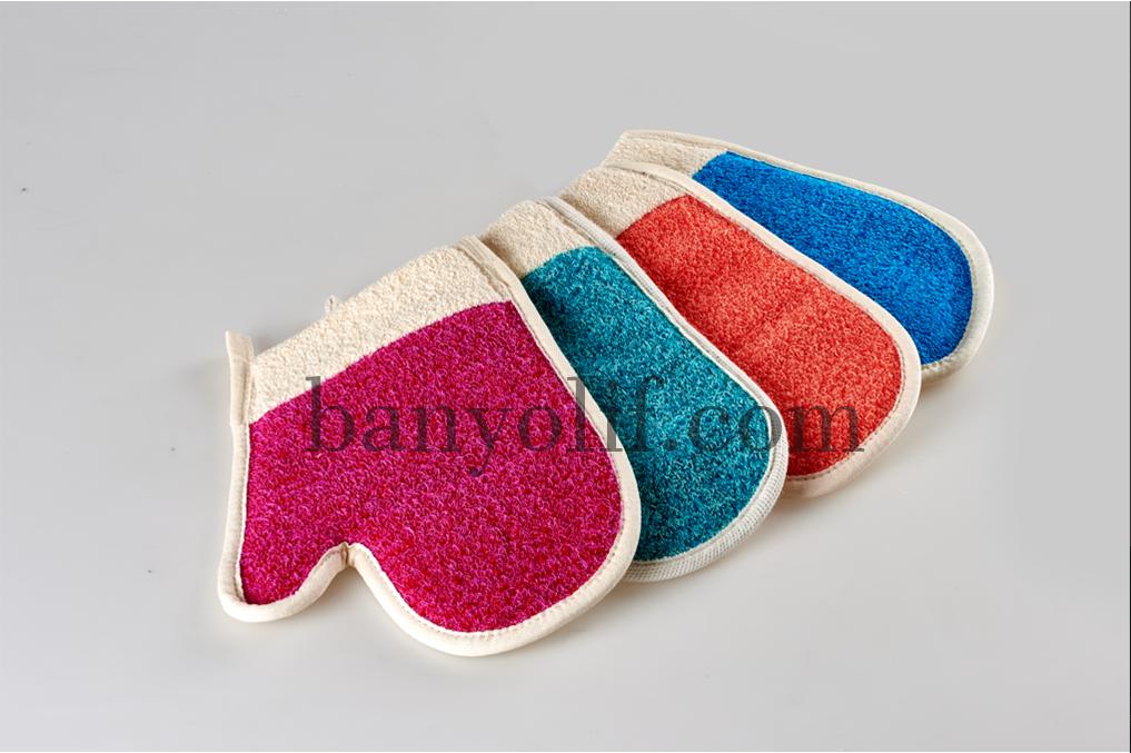 Polyester Parmaklı Havlu Eldiven