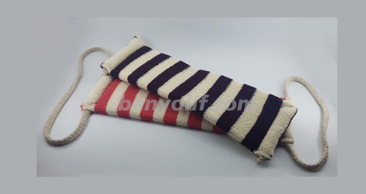 Polyester Zebra Sırt Masaj Bandı